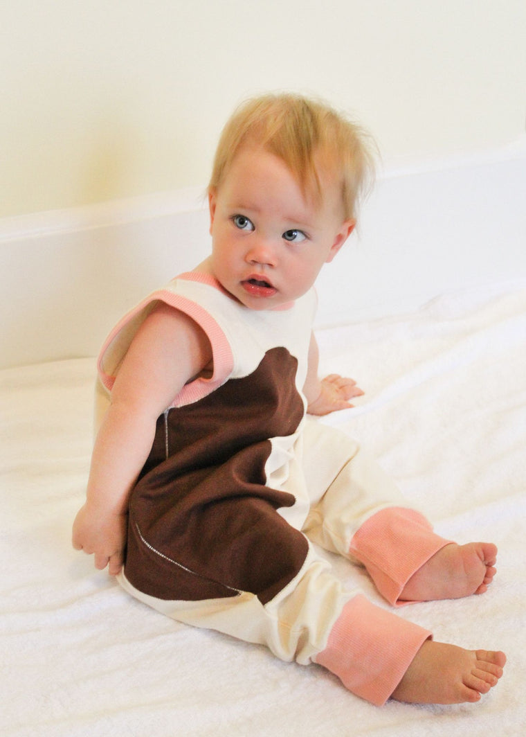 Brown Cow Romper