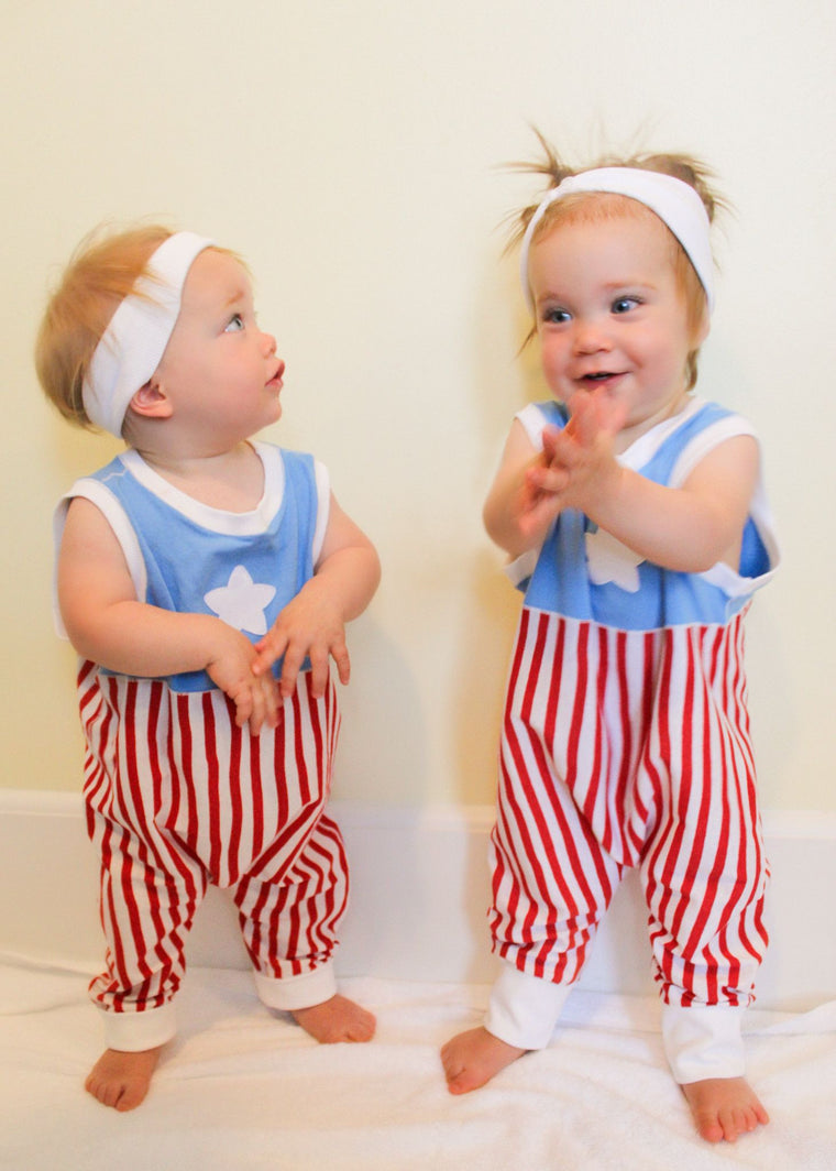 Stars & Stripes Romper