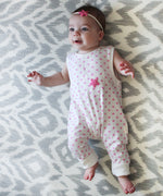 Starfish Pink Romper-Cozy Cocoon