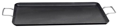 Better Chef 19 Inch Cast Aluminum Double Griddle -Non-stick Griddle- Black Color