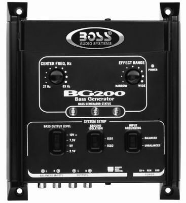 Bass Generator w/ Remote Subwoofer Level Control Powerful