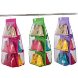 Organizer Hang The Bag Storage for Purses, Pouchs and Handbags