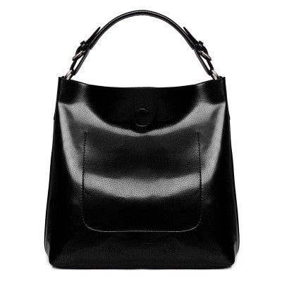 Leather Casual Shoulder Bag