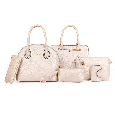 Set of 6 pcs Handbags Crossbody Bags