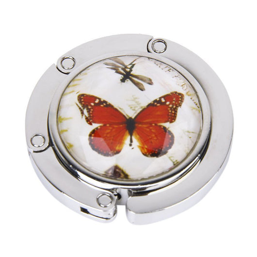 Purse Handbag Hanger Holder Butterfly Pattern