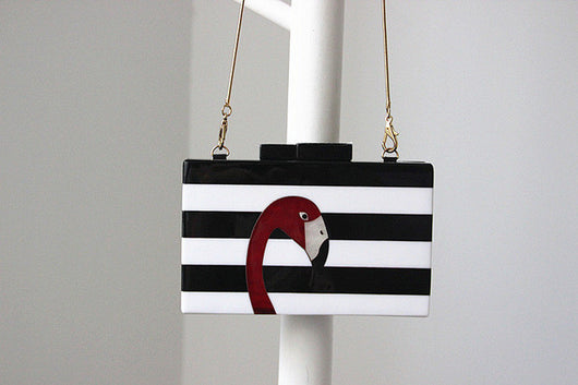 Messenger Handbag Elegant Flamingo Casual Clutch