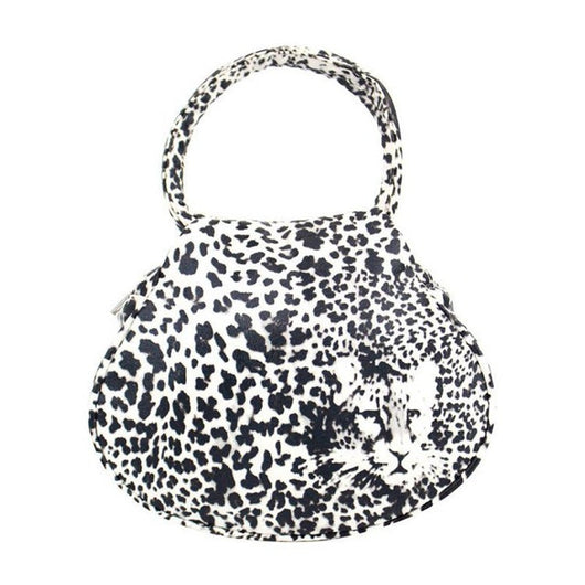 Tote Bag Leopard Print with Top Handle