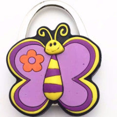 Purse Handbag Hanger Holder Cartoon Cute Butterfly Shape