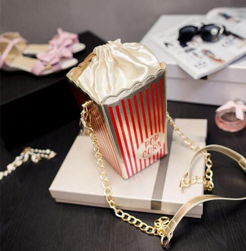 Popcorn Sweet Handbag Crossbody Bag