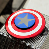 Captain America Shield Fidget Spinner - Custom Fidget spinners - Fidget Widgets
