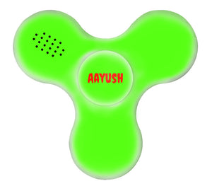 Custom Bluetooth Speaker LED Full Print Plastic Fidget Spinner