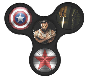Custom Full Print Plastic Fidget Spinner Richard