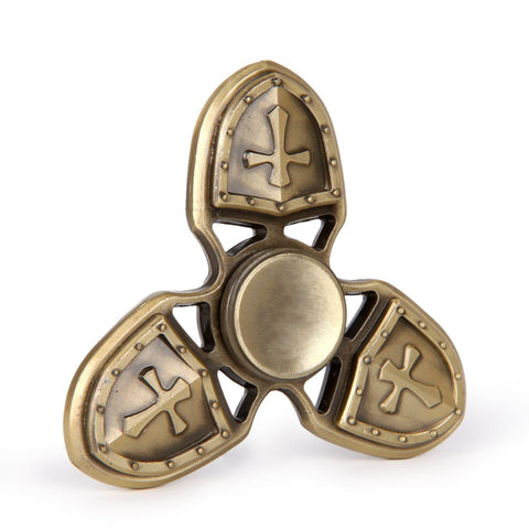 Viking's Cross Metal Focus Spinner