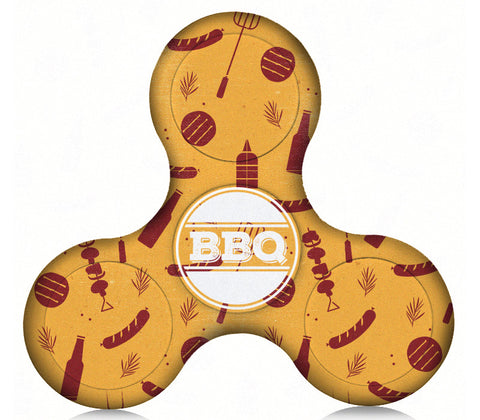 BBQ Time Plastic Fidget Spinner (Limited Edition)