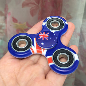 Australia Flag Focus Spinner - Custom Fidget spinners - Fidget Widgets