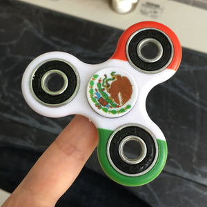 Mexico Flag Focus Spinner - Custom Fidget spinners - Fidget Widgets