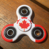 Canada Flag Focus Spinner - Custom Fidget spinners - Fidget Widgets