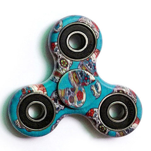 Happy Skulls Focus Spinner