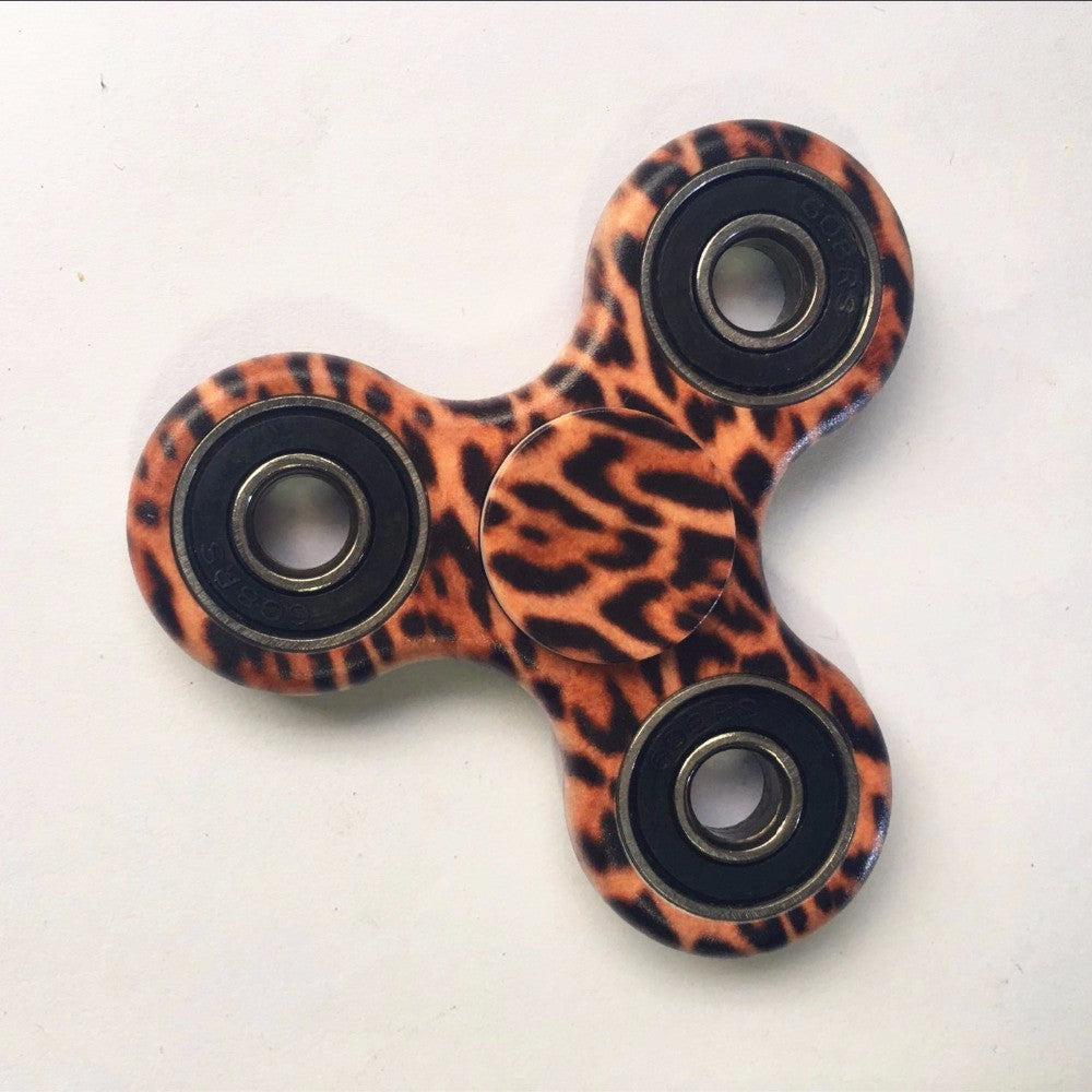 Majestic Leopard Focus Spinner