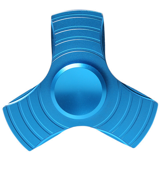 Blue Kryptonite Metal Focus Spinner