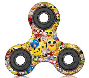 Emoji Party Plastic Fidget Spinner (Limited Edition)