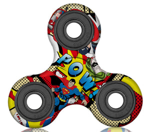 Super Hero Plastic Fidget Spinner (Limited Edition)