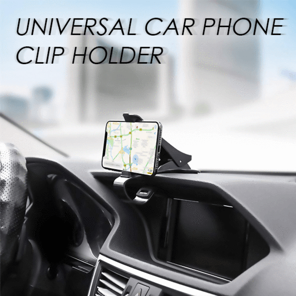 Universal Car Phone Clip Holder - 60% OFF!