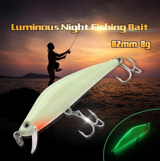 GLOW IN THE DARK LURES 3D