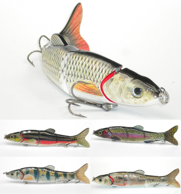 Multi-Section 5 Section Fishing Lure 3D Eyes