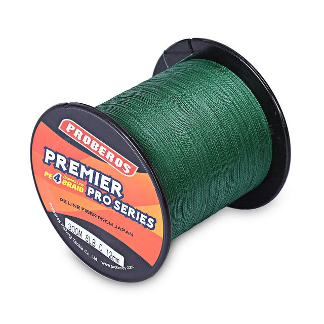 300M PE 4 Strands Braided Fishing Line