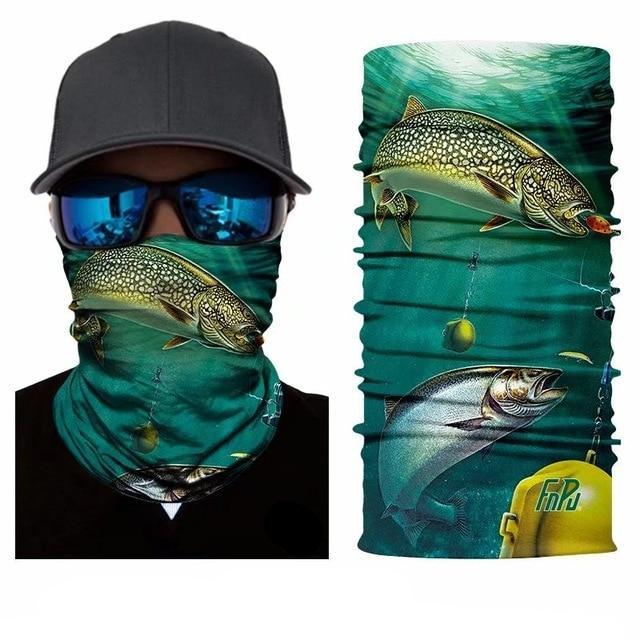 3D Quick Dry Fishing Scarf