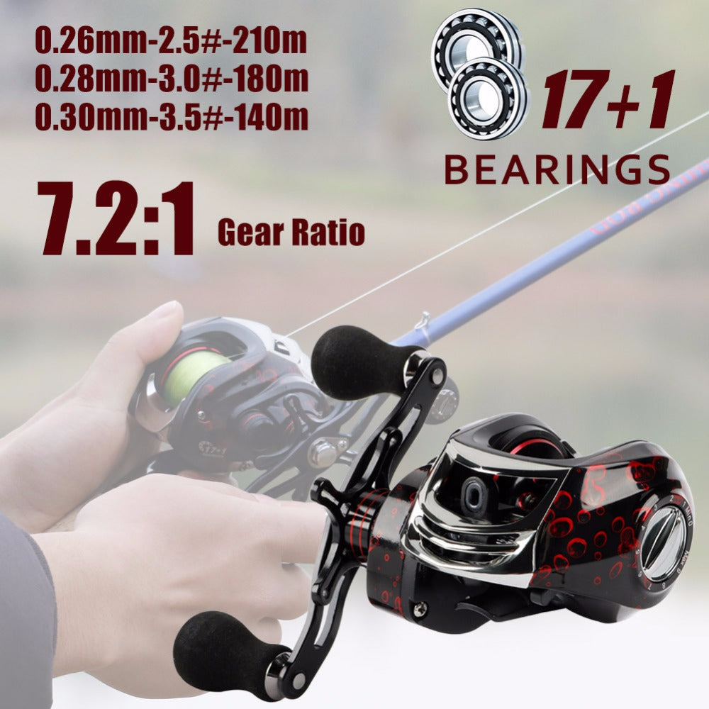 Fishing Reel Wheel Fishing Tackle 12KG Max Drag
