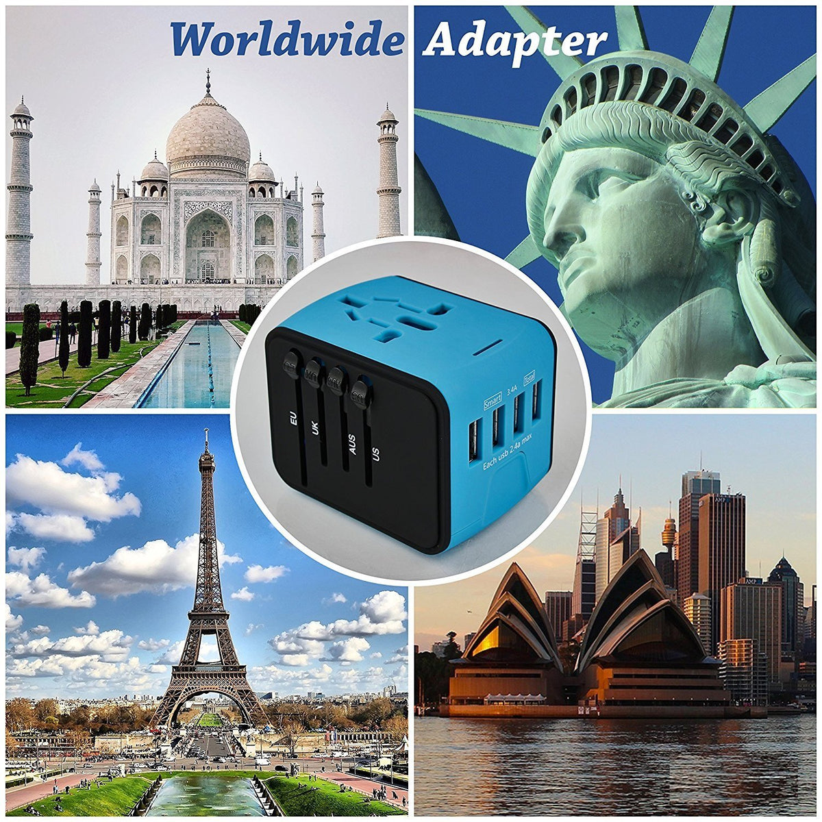 All-in-one International Power Adapter