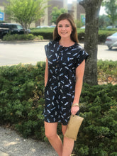 Tyler Boe- Short-sleeve firefly dress