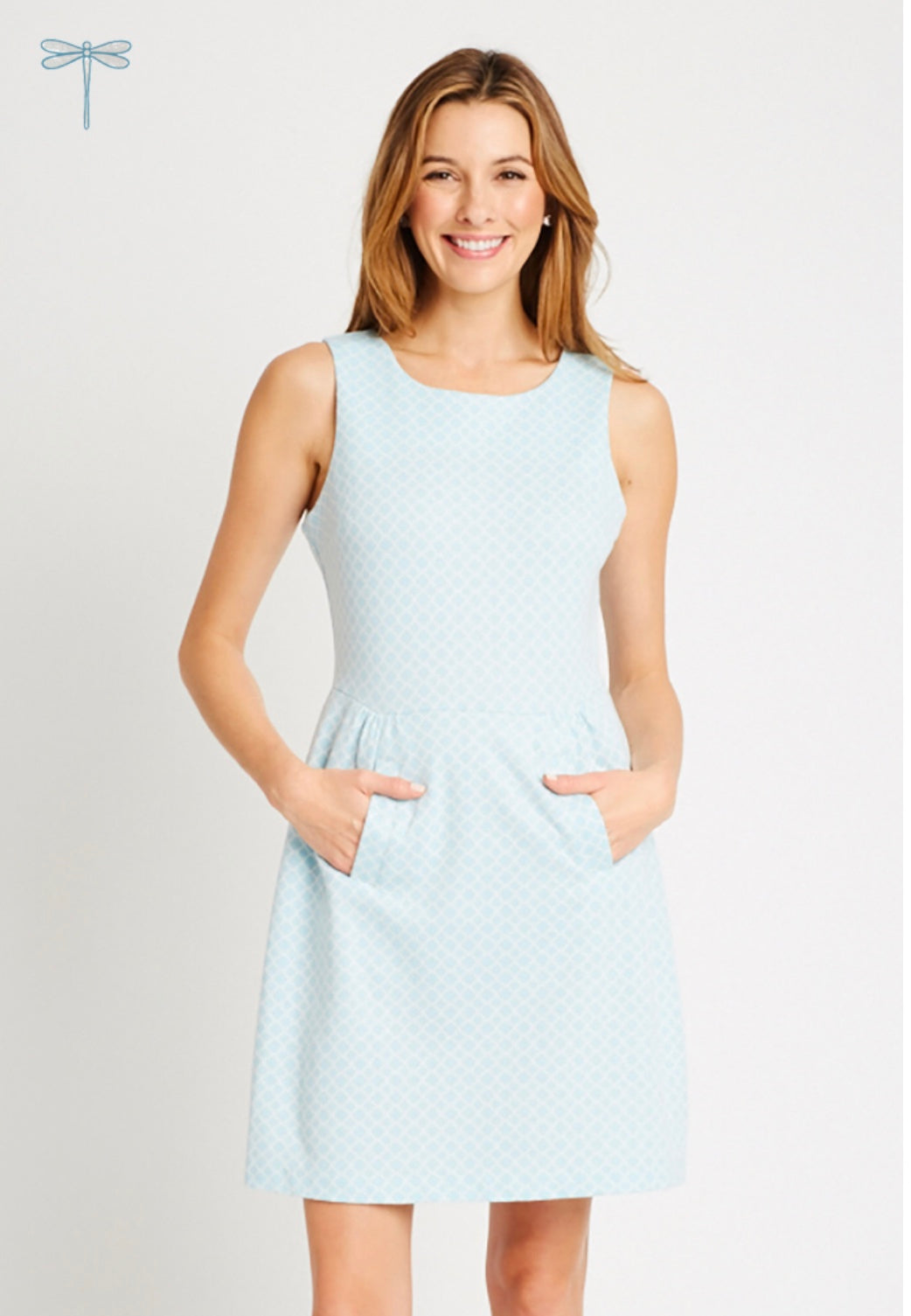 Tyler Boe - Claire Dress - Sky Blue