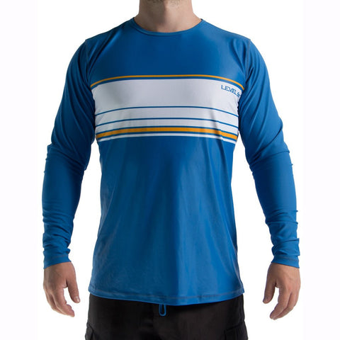 Level Six Coastal L/S Rash Top