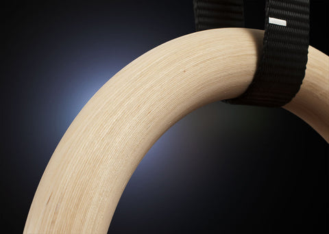 detail of Elite Wooden Ring