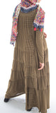 Naimah Tiered Dress (Olive) - Muhmin1