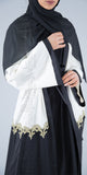 Faria Overcoat (White/Black) - Muhmin1