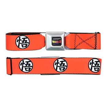 Dragonball Z Orange Seatbelt Belt