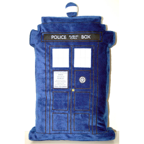 Doctor Who Tardis Shape Cushion Pillow