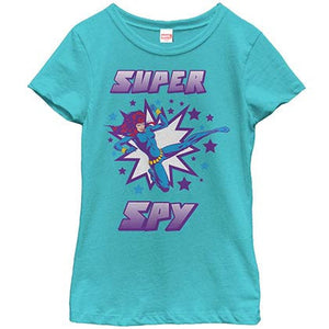 Marvel Teams Super Spy Blue Youth T-Shirt