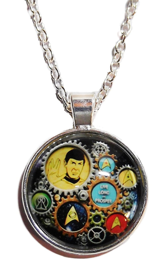Star Trek Tribute to Spock Steam Pendant.