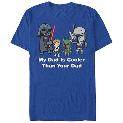 Star Wars Cooler Dad Blue T-Shirt