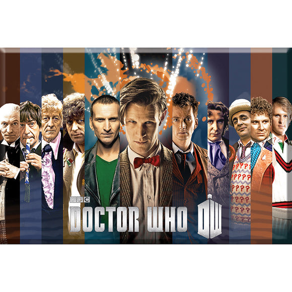 Doctor Who – Doctors Magnet