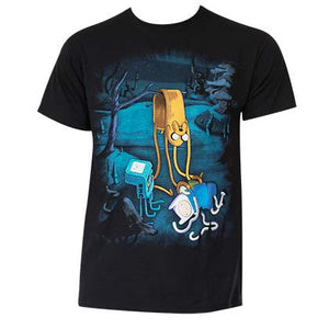 Men's Cotton Adventure Time Melting T-Shirt