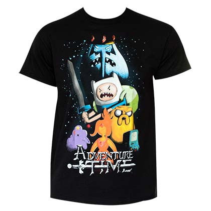 Men's Cotton Adventure Time T-Shirt