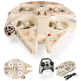 Star Wars R/C Millennium Falcon Qaud Air Hogs