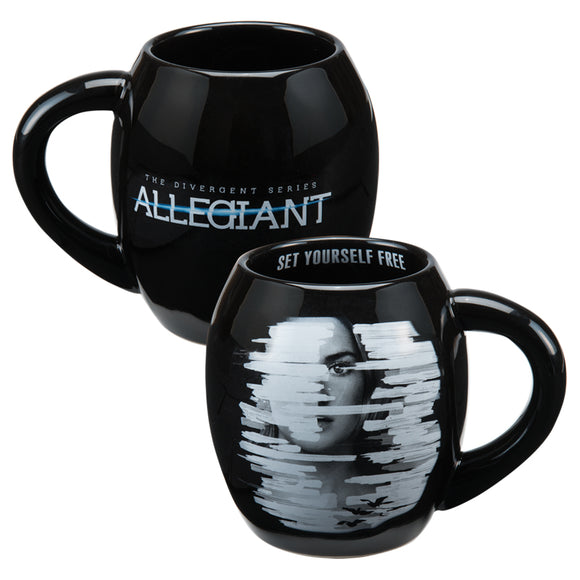 Allegiant Oval Ceramic Mug 18 oz.