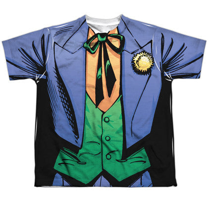 The Joker Uniform Youth Costume Tee